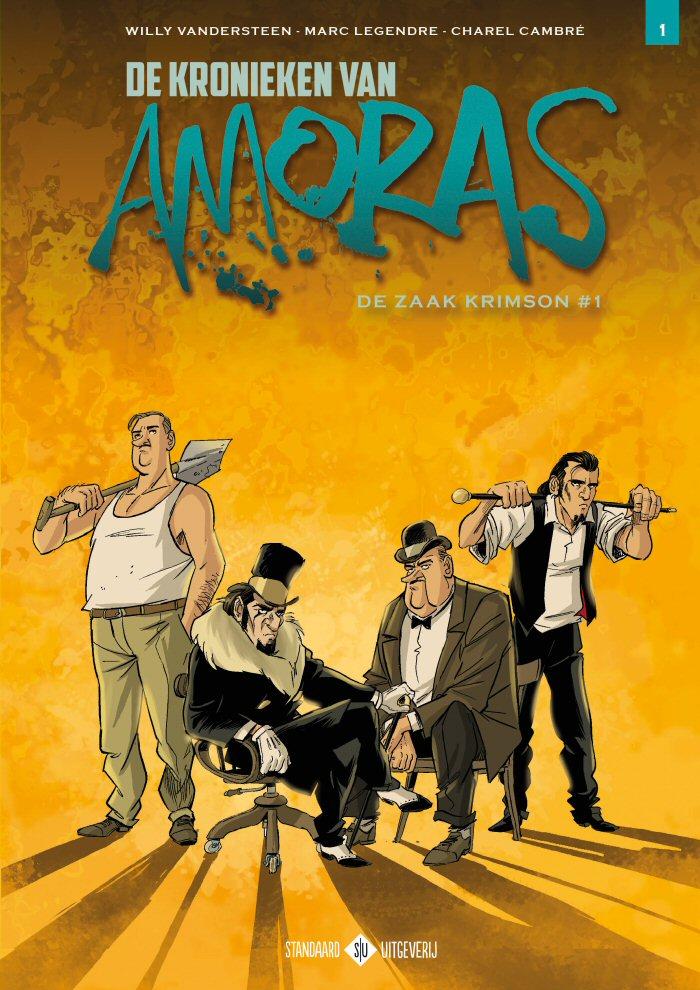 Cover kronieken van Amoras 1