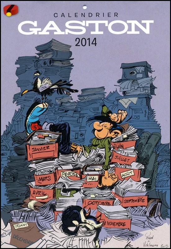 Kalender Spirou 2014