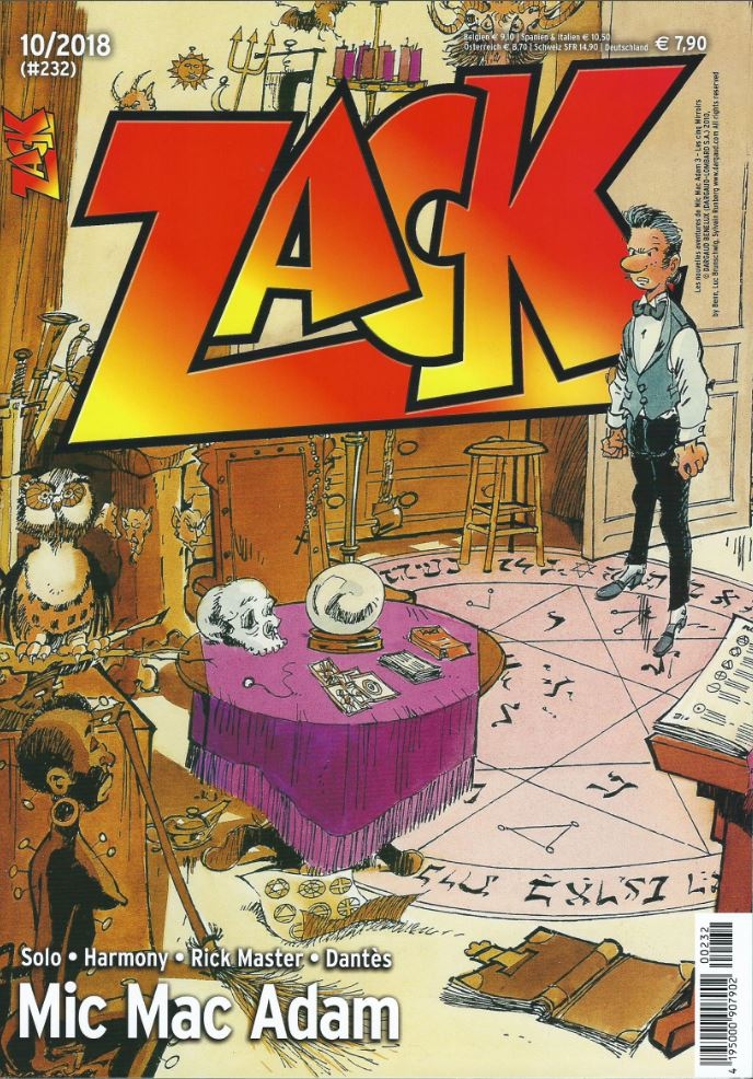 Cover ZACK 232