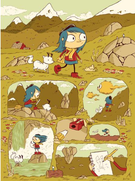 Detail aus Hilda und der Troll