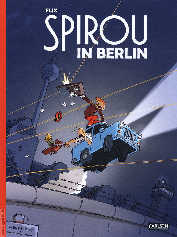 Cover Spirou in Berlin