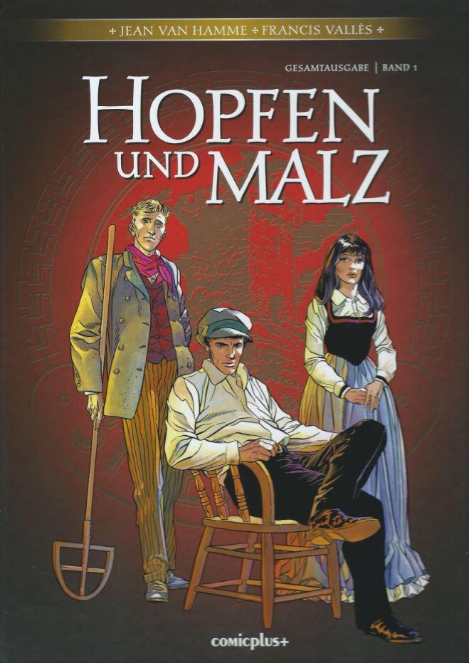 Cover Gesamtausgabe Hopfen und Malz 1