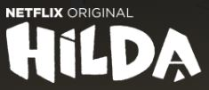 Logo Netflix Hilda