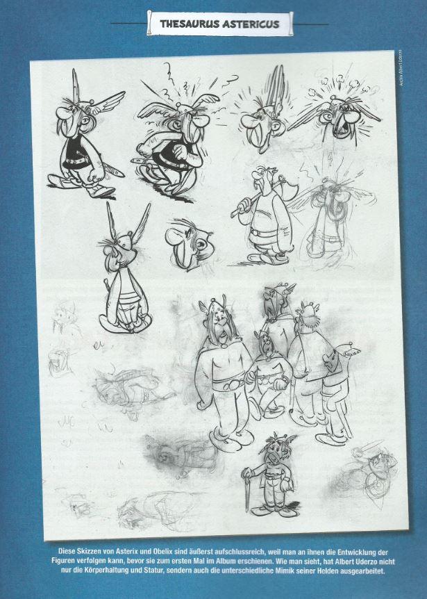 Detail Asterix 1 Jubilaeumsausgabe page 49