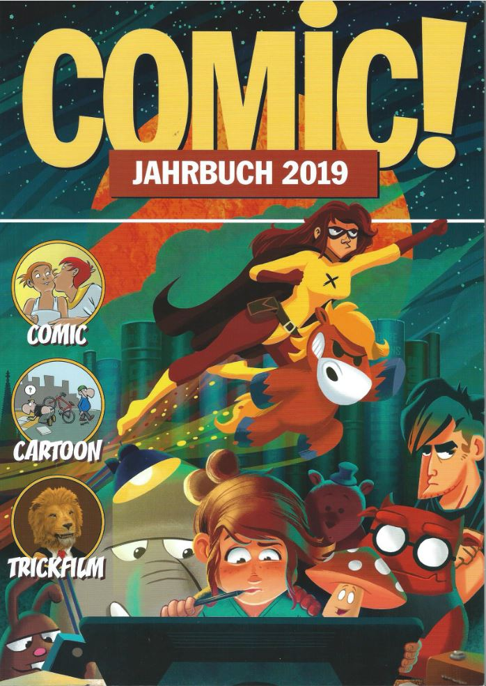 cover ComicJahrbuch 2019