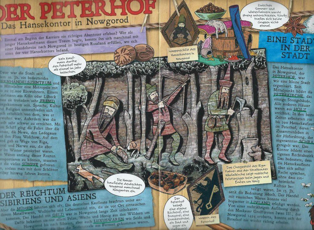Detail aus Mosaik 516 pg 24
