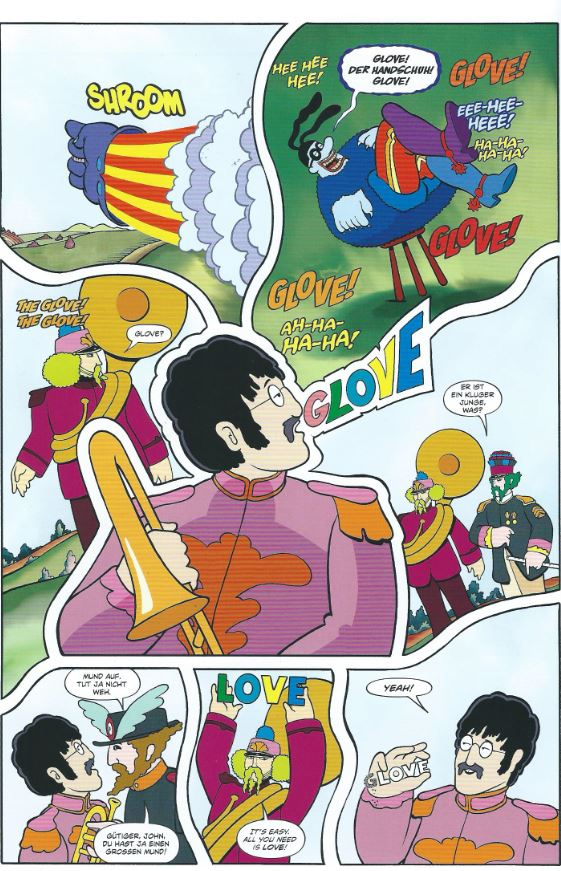 The Beatles Yellow Submarine page