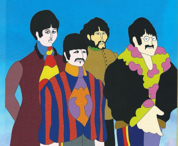 Detail aus Anhang The Beatles Yellow Submarine