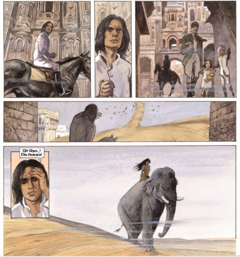 Detail aus India Dreams Gesamtausgabe 1 page 171