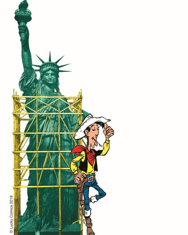 Werbegrafik Lucky Luke 97