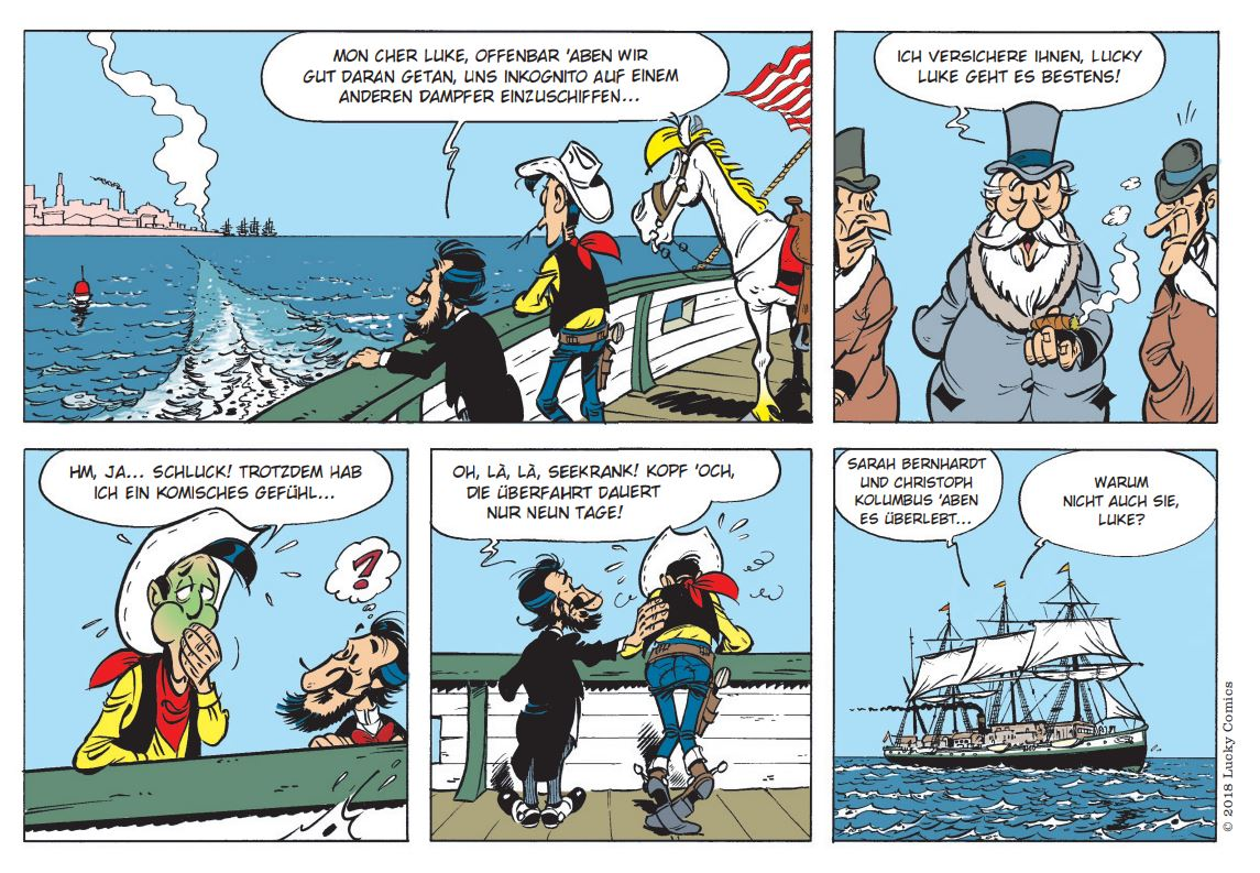 Detail Lucky Luke 97 page 24