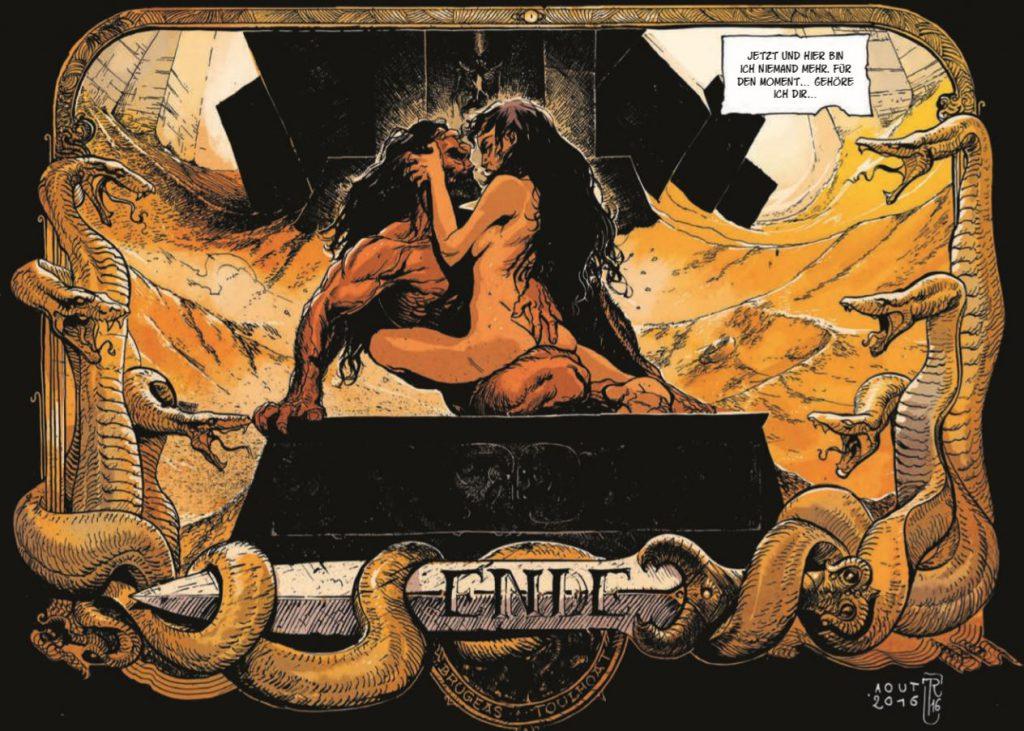 Deatail Conan der Cimmerier page 64