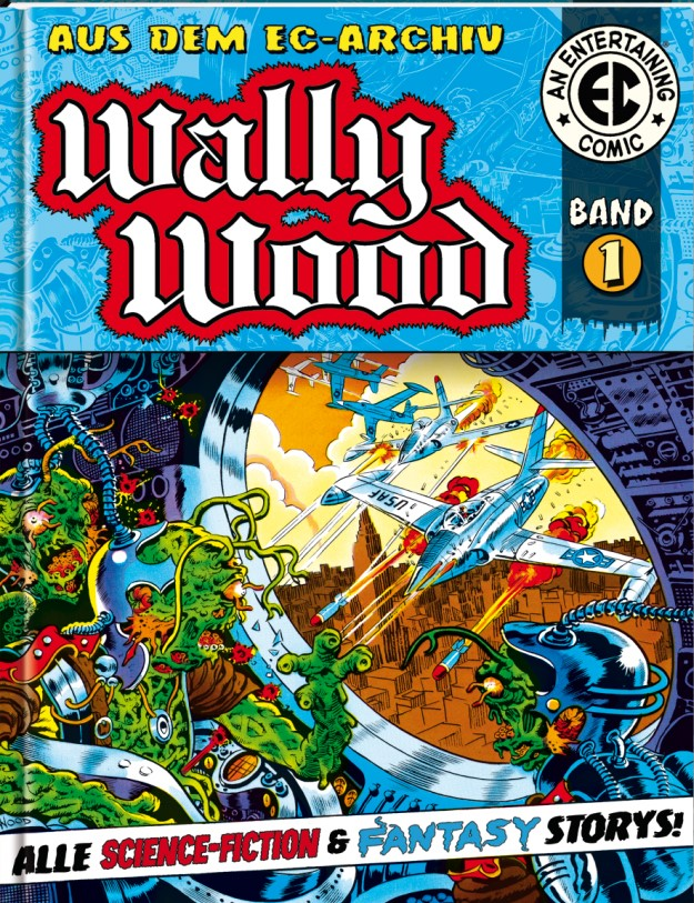 Wally Wood EC-Archive 1 cover