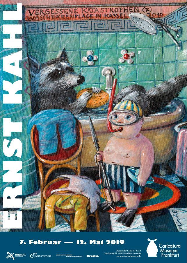Plakat Ausstellung Ernst Kahl 2019