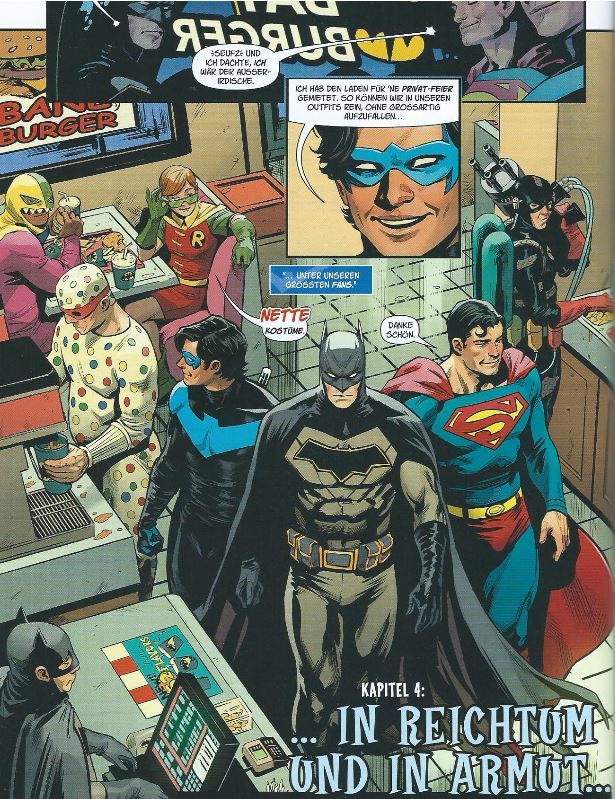 Detail aus Batman - Vorgeschichte zur Hochzeit