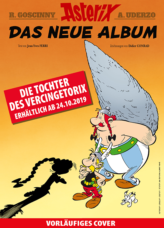 vorläufiges Cover Asterix 38