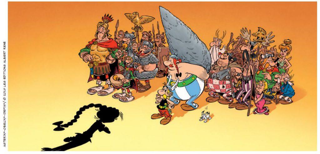 Szene aus Asterix 38