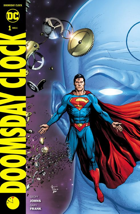 Cover Doomsday Clock 1