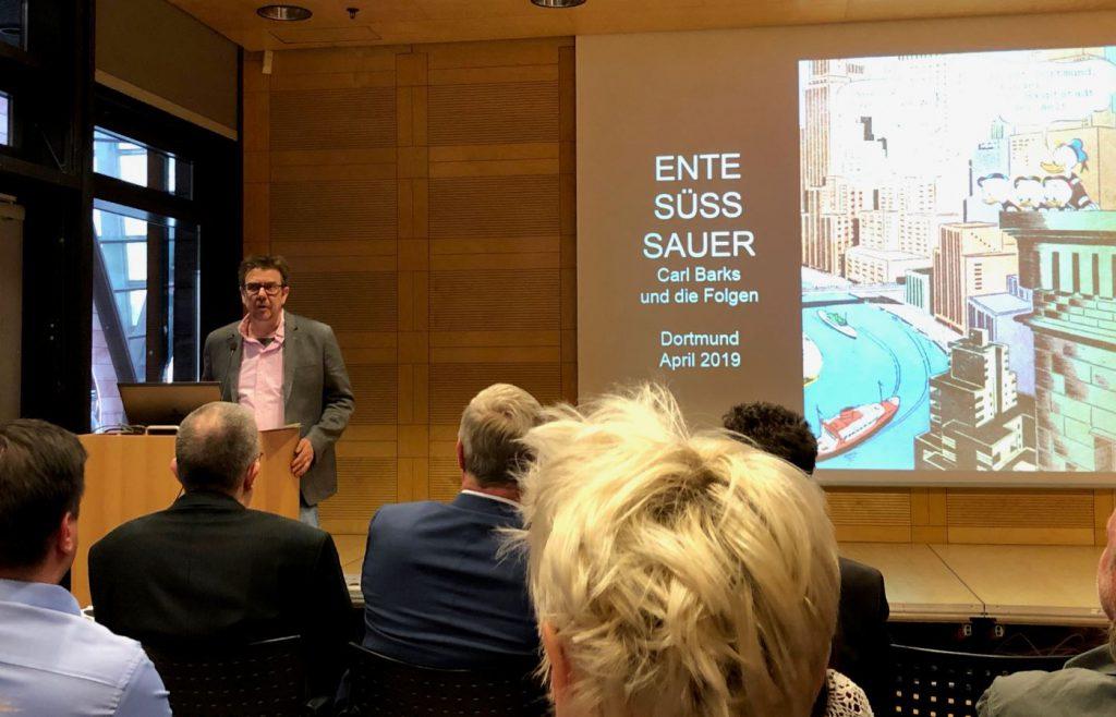 Eröffnung Ente Süss Sauer durch Dr. Alexander Braun