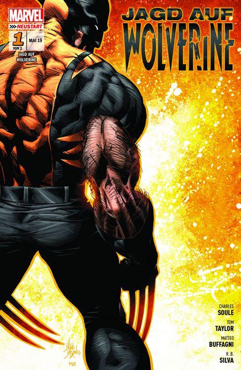 Cover Jagd auf Wolverine 1