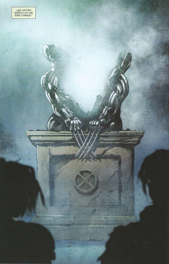 Page aus Jagd auf Wolverine