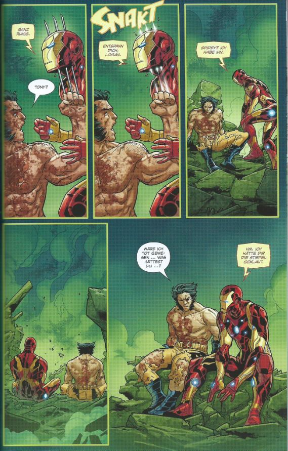 page aus Jagd auf Wolverine 1