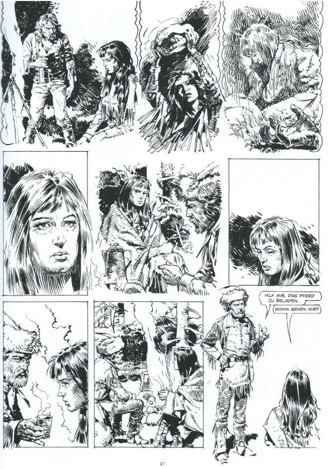 2 Der Schamane DRUUNA Stil Serpieri Paolo Eleuteri Comic Collection Western Bd