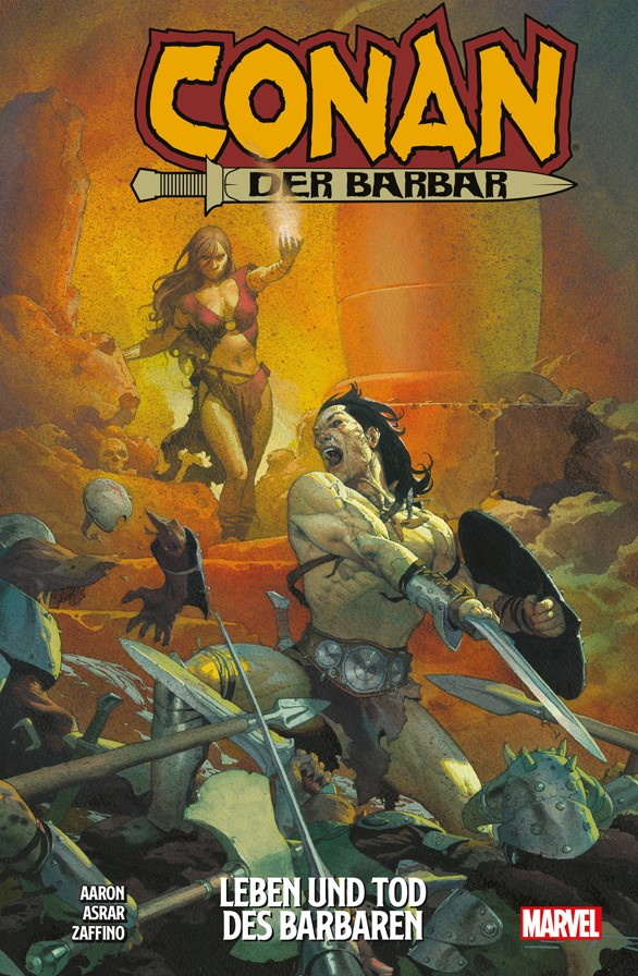 Cover Conan der Barbar 1