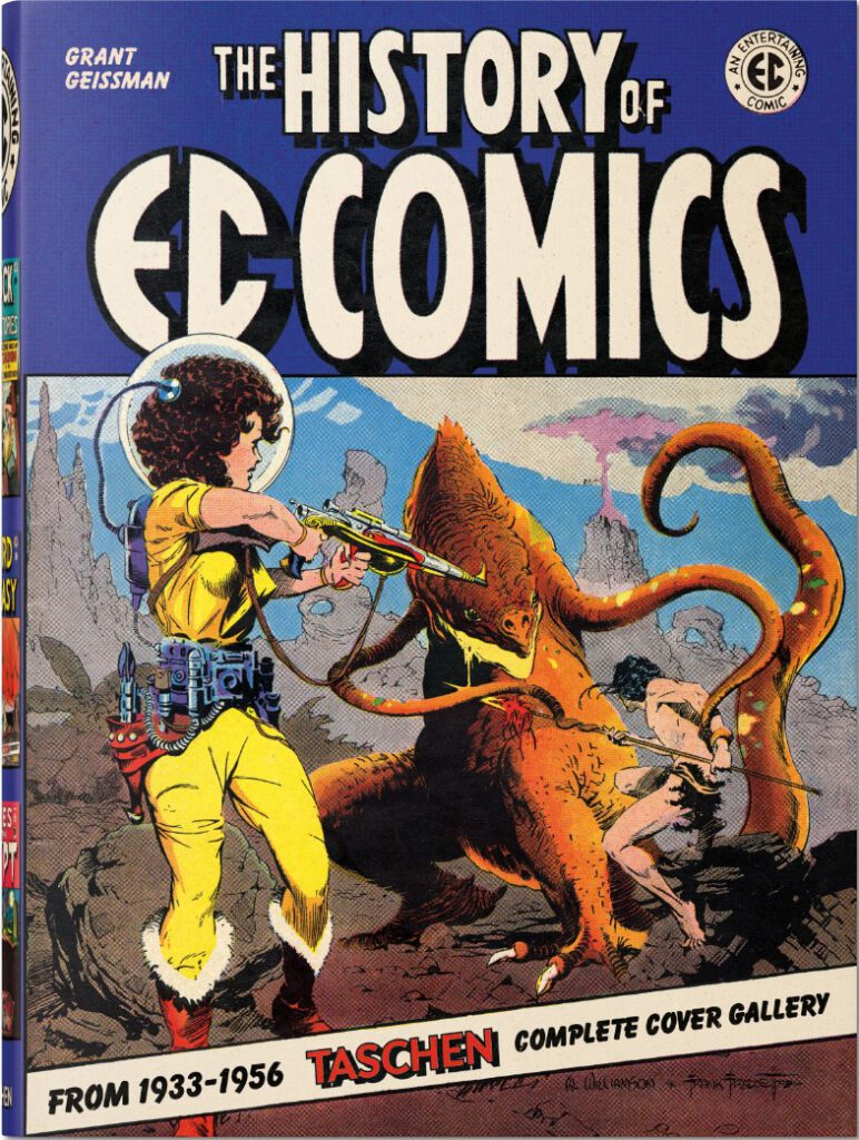 Cover Geissman History of EC Comics
