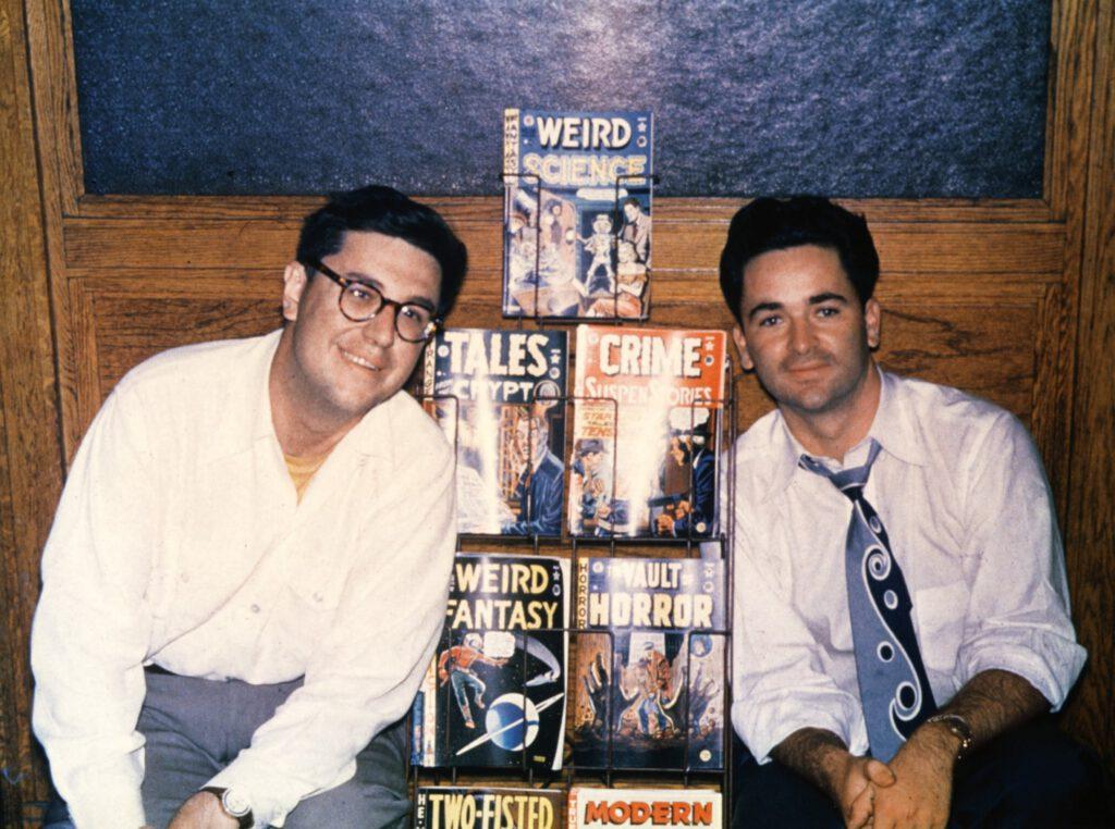 Bill Gaines und Al Feldstein 1950