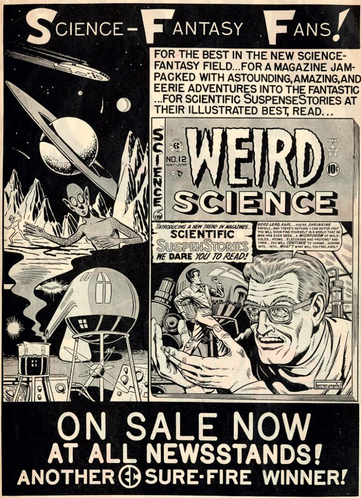 adverstisement Weird Science