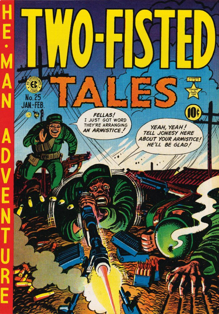 Cover example Two-fisted tales