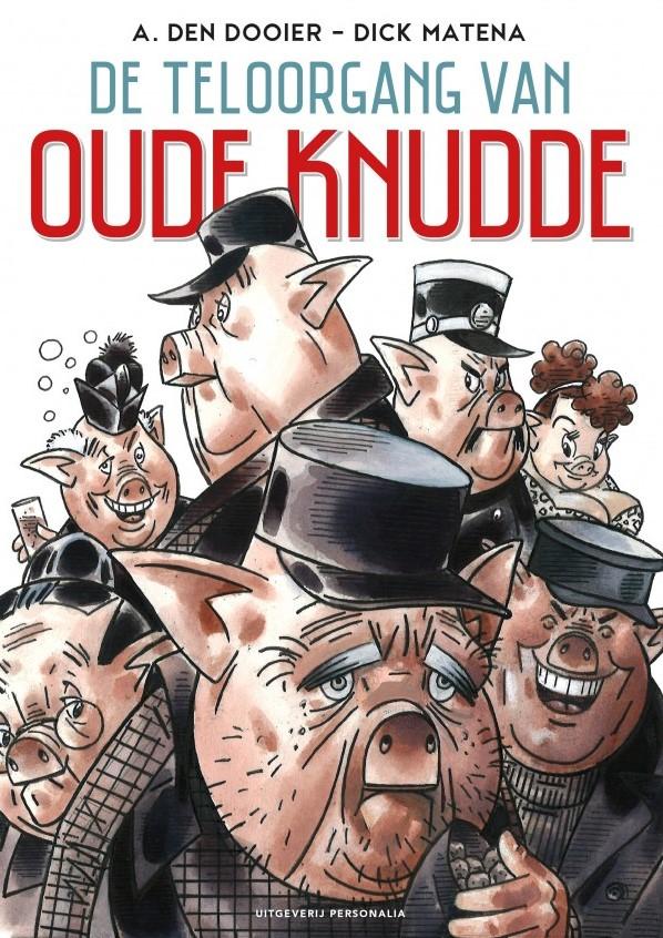 Cover Teloorgang van oude Knudde