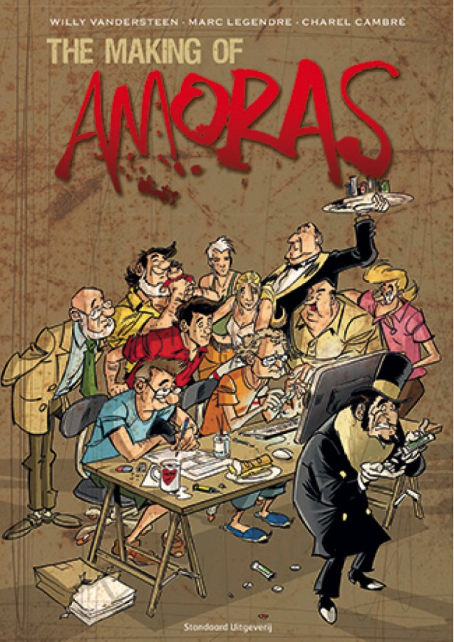 Making of Amoras Cover