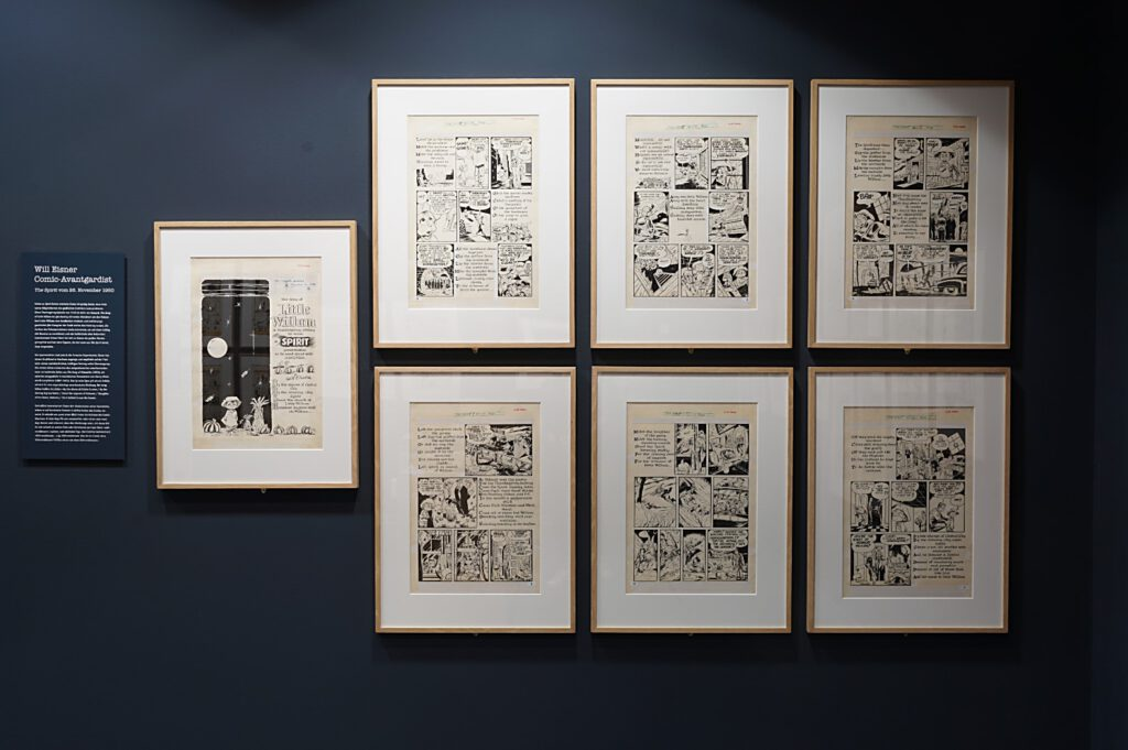 Ausstellung Will Eisner, Godfather der Graphic Novel 3