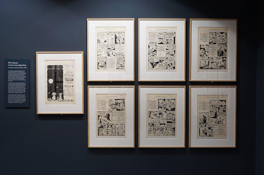 Ausstellung Will Eisner, Godfather der Graphic Novel 3