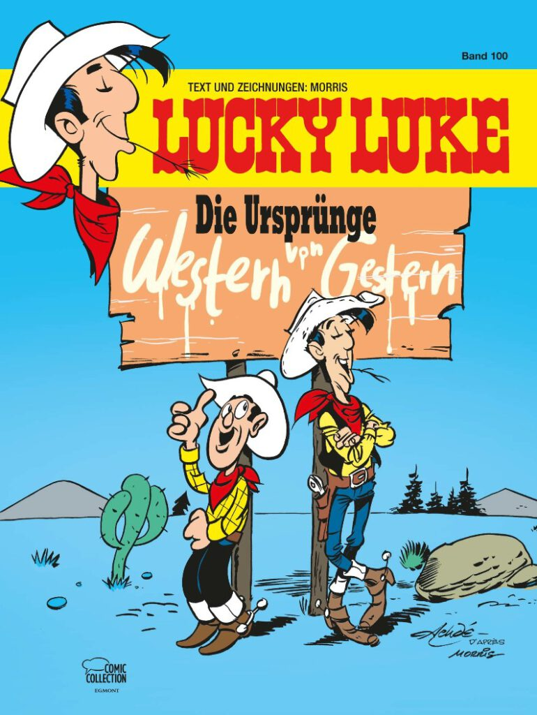 Cover Lucky Luke 100
