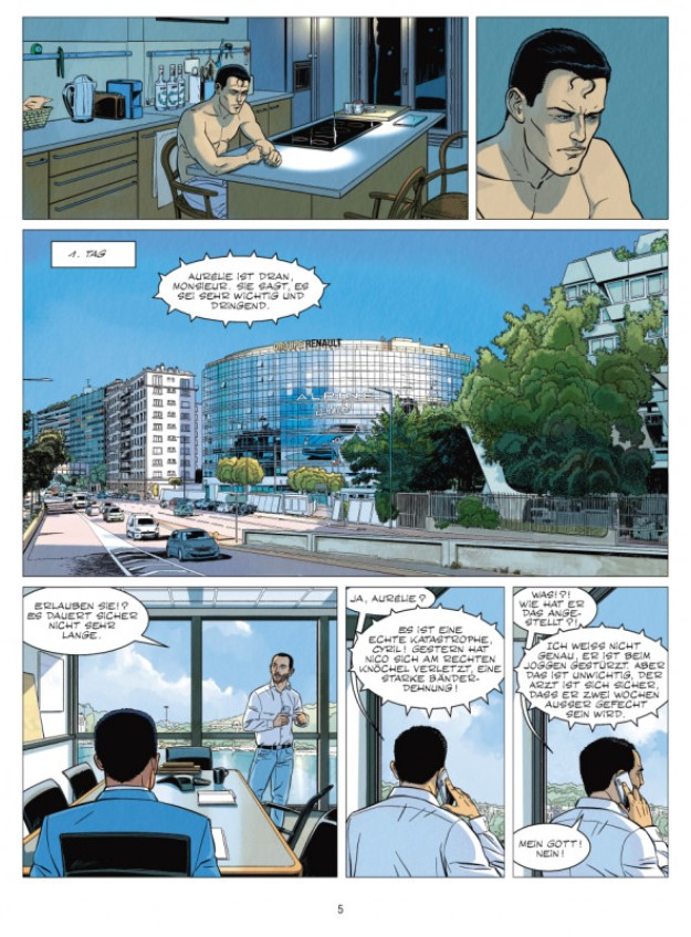 Michel Vaillant Staffel 2 Band 8 page 5