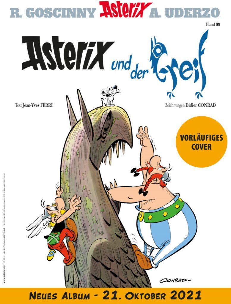 Cover Asterix 39