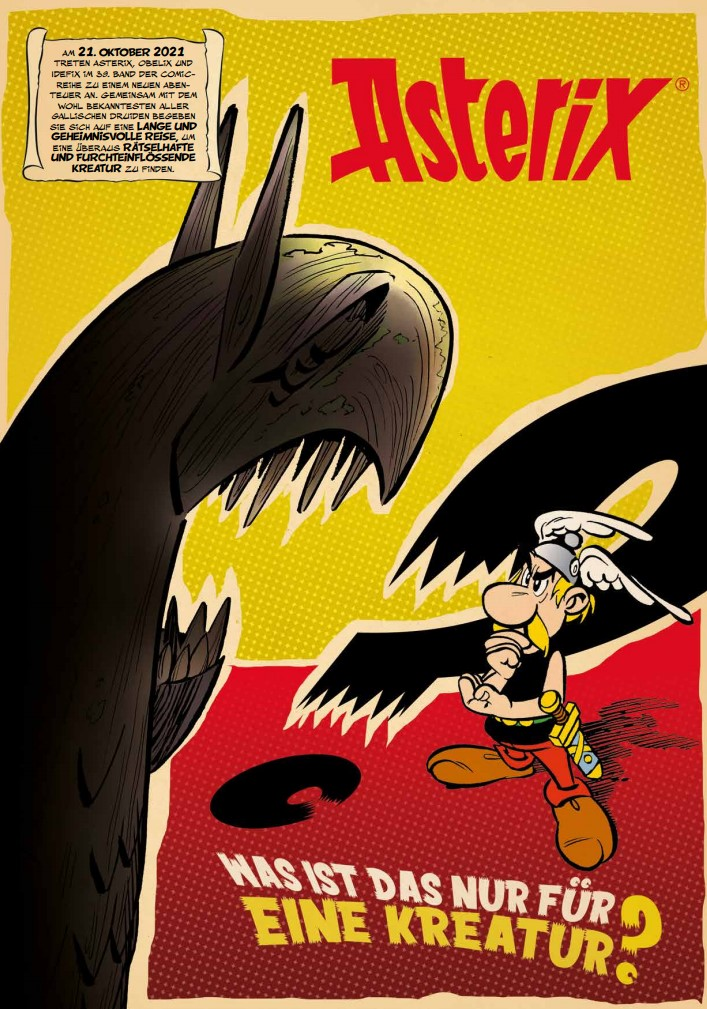 Ankündigung Asterix 39