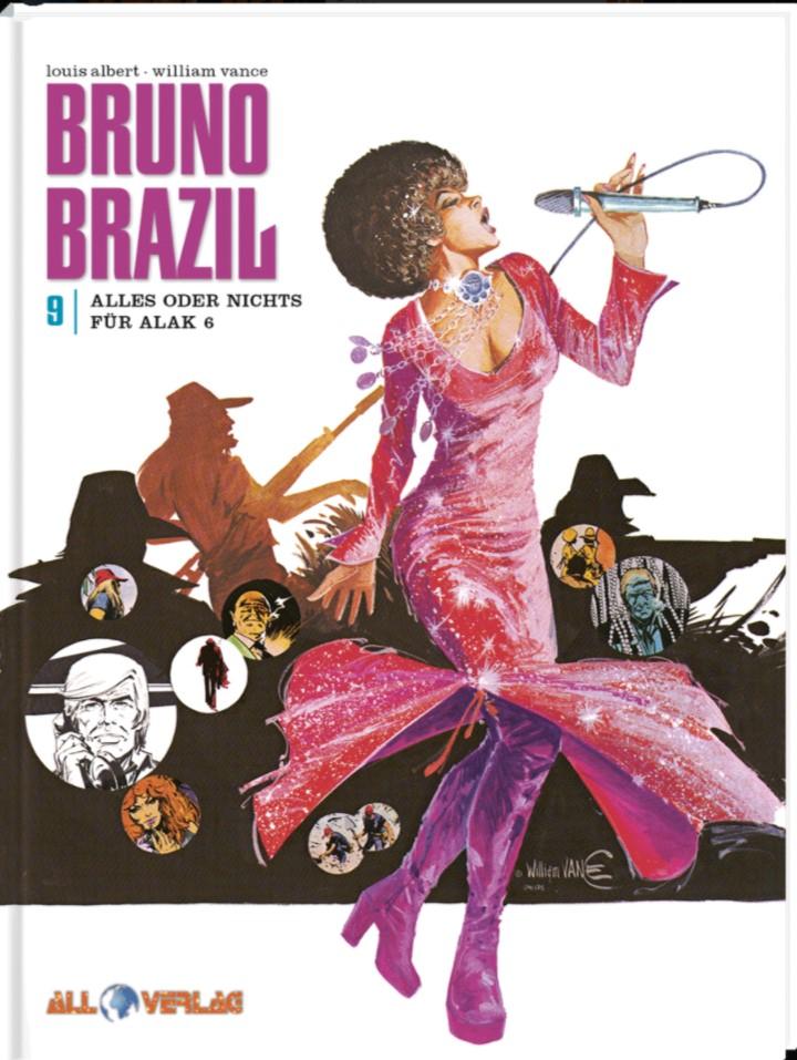 Bruno Brazil 9 - Cover