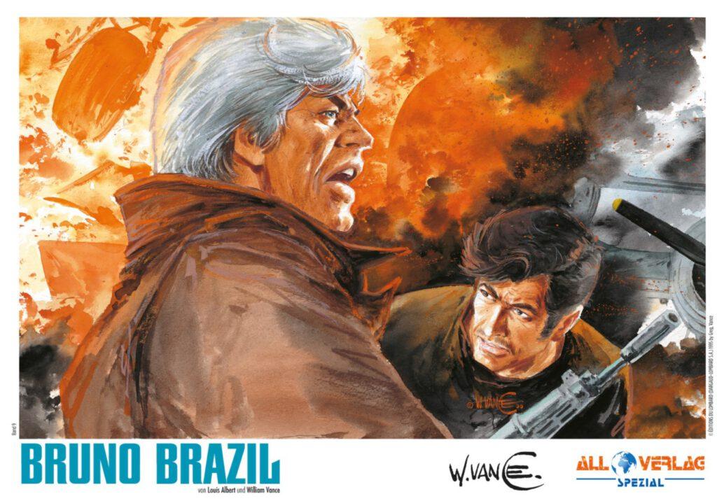 Bruno Brazil 9 - Ex Libris der VZA