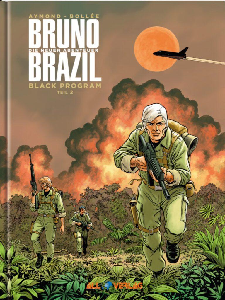 Aymond Bollée Bruno Brazil neuen Abenteuer 2 Cover