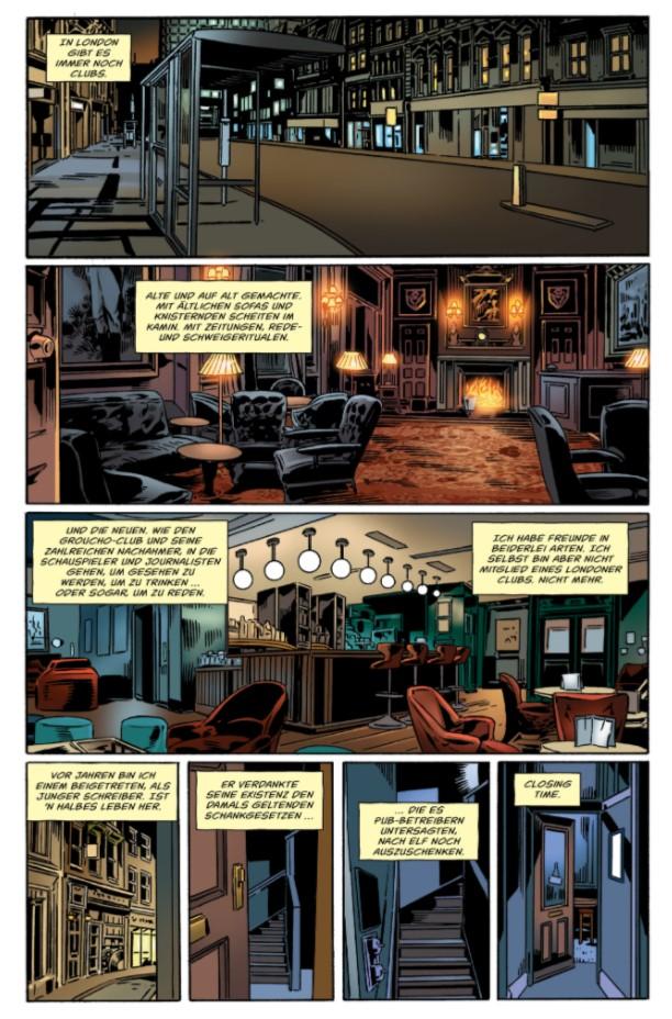 Gaiman/Buckingham Mögliche Geschichten page 1