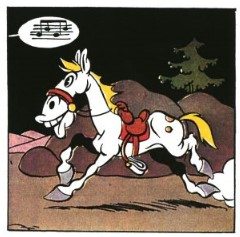 Panel aus Lucky Luke 100