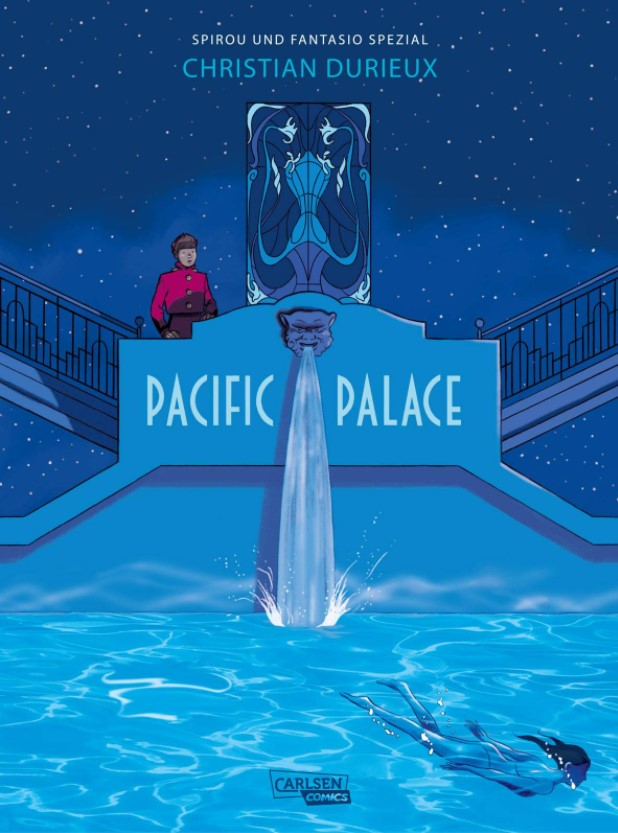 Cover Spirou und Fantasio Spezial 32 Pacific Palace