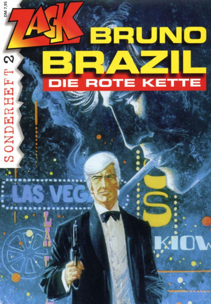 Cover Zack Sonderheft 2 Bruno Brazil