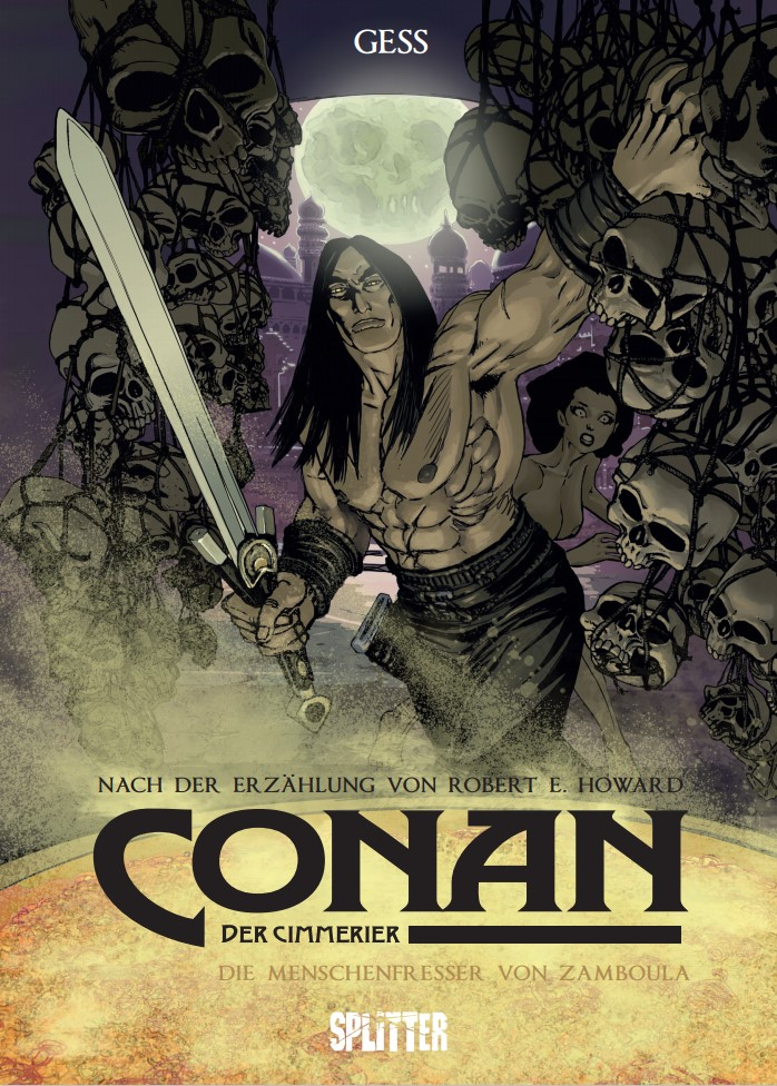 Cover Gess Conan der Cimmerier 9