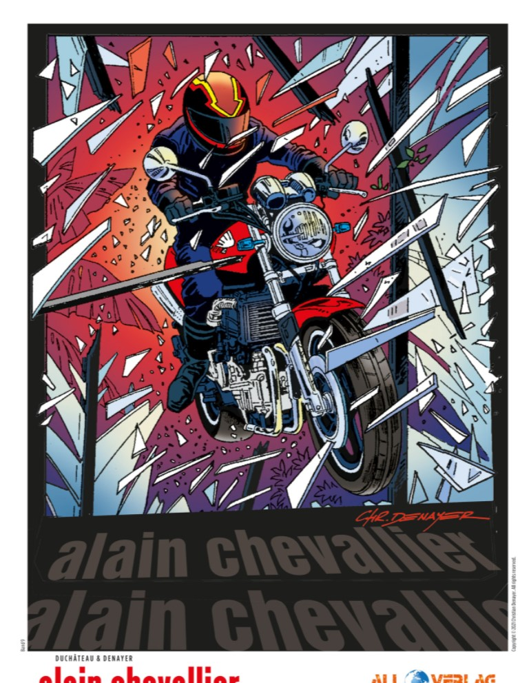 Alain Chevallier 9 Ex Libris
