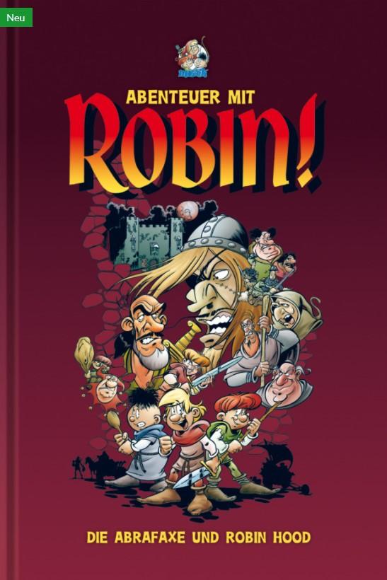 Cover Abenteuer mit Robin!